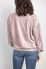 friday feels veloure top