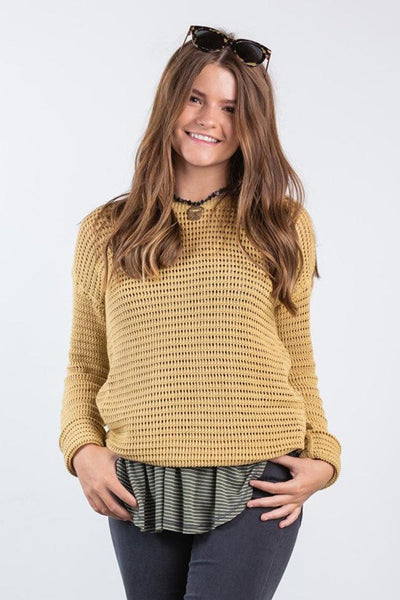 between seasons sweater