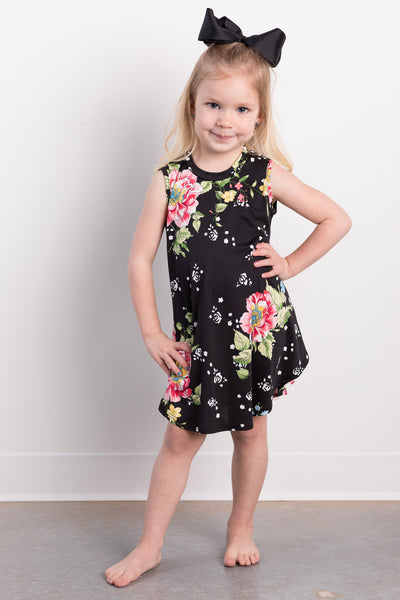 pretty in paradise toddler dress