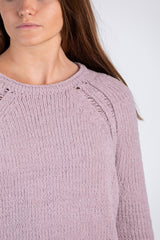 chase your dreams sweater-lavender