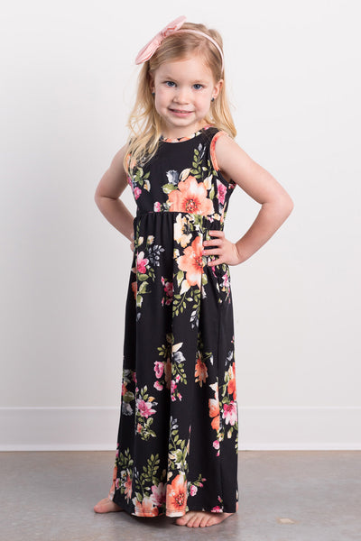 beachside toddler maxi dress