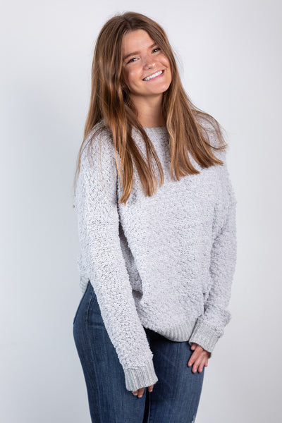 silver lining sweater