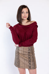stay classy knit top
