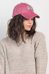 state outline hat-red