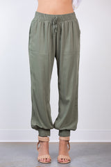 road trip elastic pants