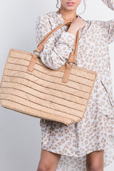 west end woven tote