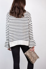 free at the moment chenille sweater-ivory