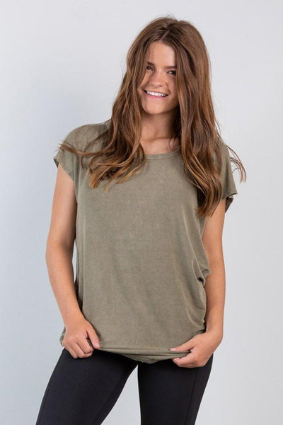 lifestyle top-olive