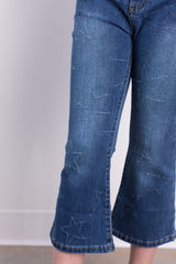 star distressed jeans