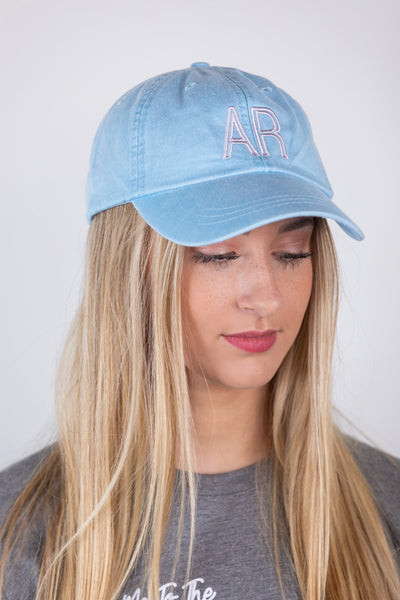ar baby blue hat
