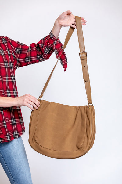 maisy messenger bag-khaki