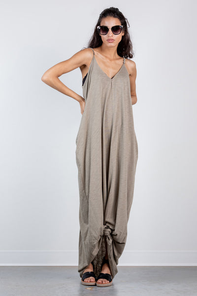 summer nights maxi-olive