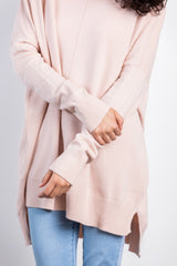lucky day blush sweater