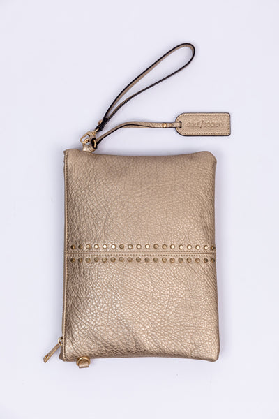 bayle clutch-sand metallic