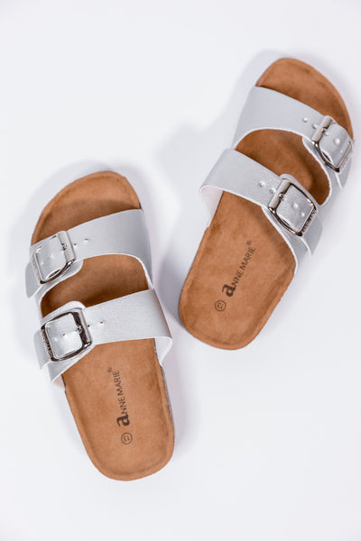 girls glory silver sandals