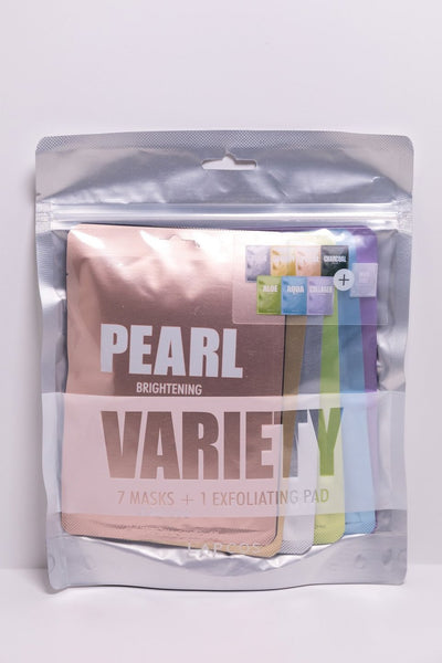 variety face masks 7+1 exfoliating & cleansing pad