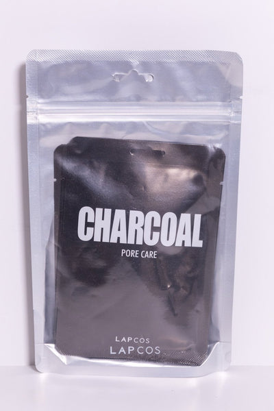 5-pack charcoal face masks