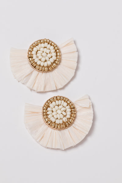 radcliff earring - ivory