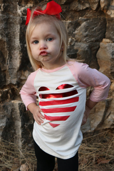 all my heart toddler top