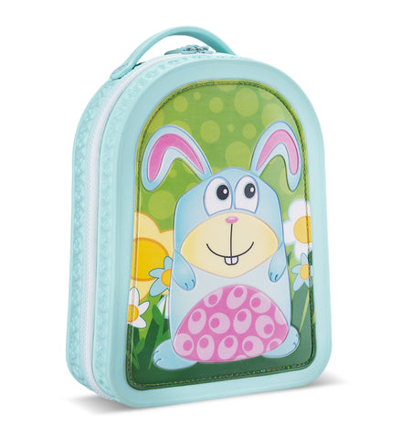 Green Frog Friends Lunchbag-Backpack, Bunny