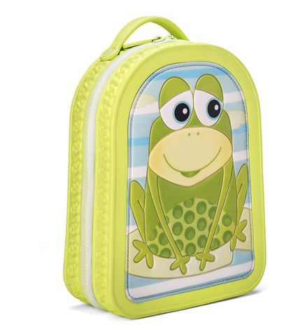 Green Frog Friends Lunchbag-Backpack, Frog