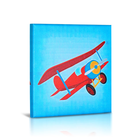 'Lets Fly' Gallery Wrapped Canvas  Art- 3 Piece Set