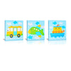 'By Boat, Plane & Car'  Gallery Wrapped Canvas Art - 3pc Set