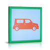 'Vintage Cars' Gallery Wrapped Canvas Art - 4pc Set