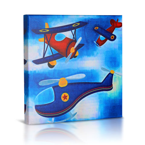 'Flying High' Gallery Wrapped Canvas Print