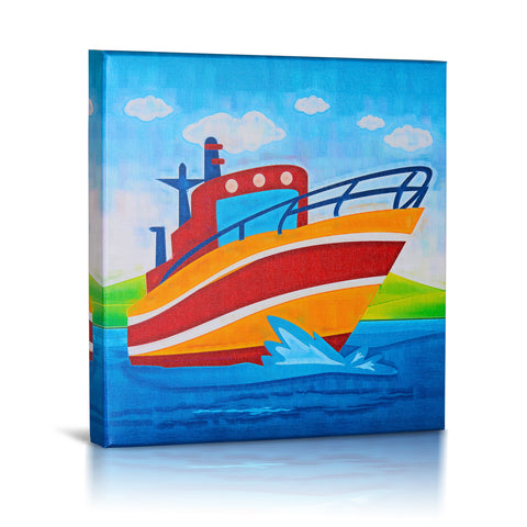 Bon Voyage, Gallery Wrapped Canvas Art