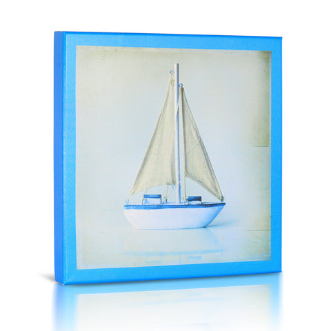 Sailboat II, Gallery Wrapped Canvas Art