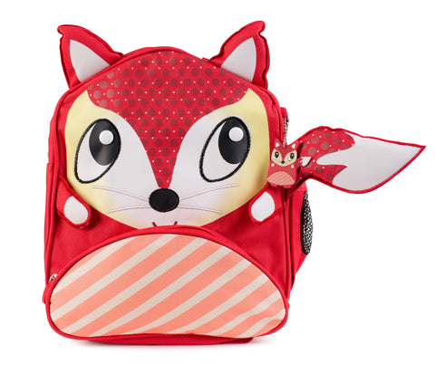 "Green Frog Friend's ""Fox"" Backpack"