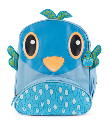 "Green Frog Friend's ""Birdie"" Backpack"
