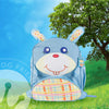 "Green Frog Friend's ""Bunny"" Backpack"