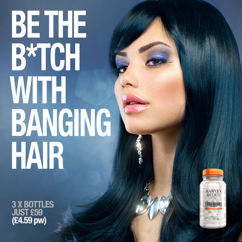 Hair Growth Vitamins Root Rehab with stemFUEL Biotin and Collagen For Men and Women, More Effective Than Shampoo Or Oils
