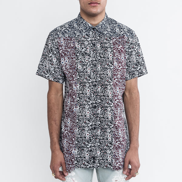 Men's Graphic Button Up