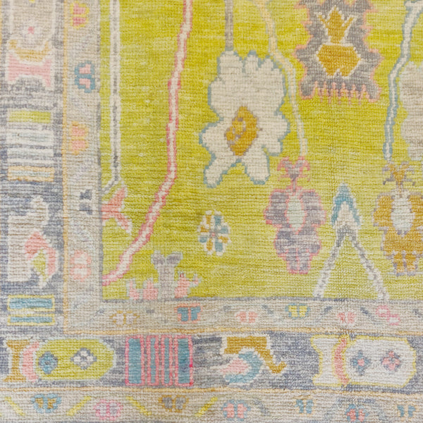 Wool Oushak Rug No. 1015