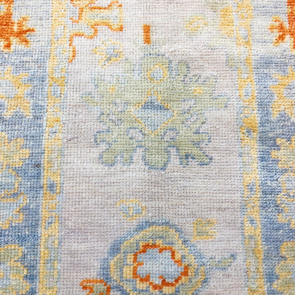 Wool Oushak Runner No. 1023