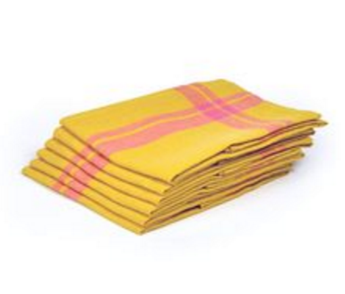 Hudson Yellow Kitchen Towel