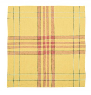 Bonnie Brae Kitchen Towel, Lemon Yellow