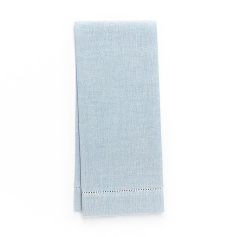 Zodiaco Hemstitch Guest Towel, Blue