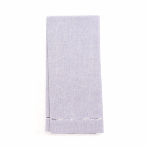 Zodiaco Hemstitch Guest Towel, Lavender
