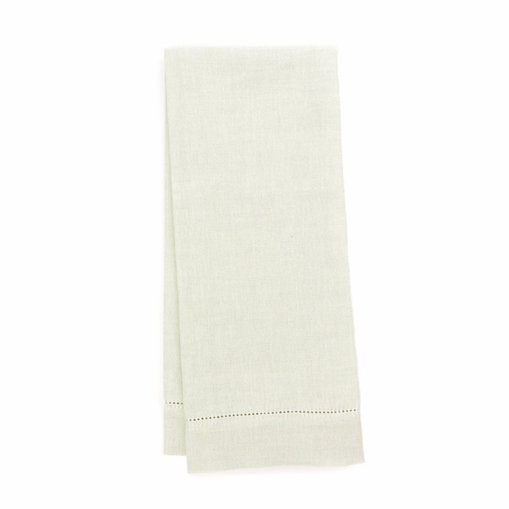 Zodiaco Hemstitch Guest Towel, Light Green
