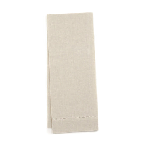 Zodiaco Hemstitch Face Towel, Natural