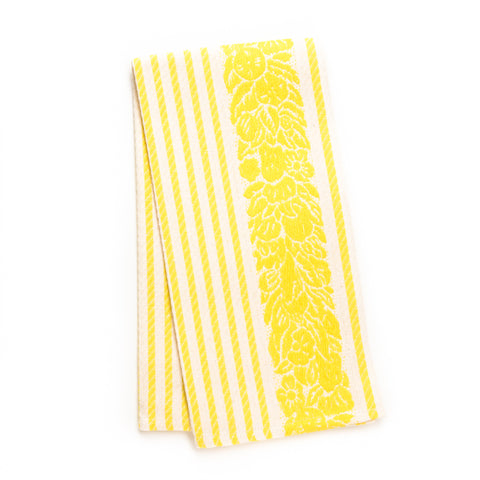 Mirto Kitchen Towel, Bright Yellow