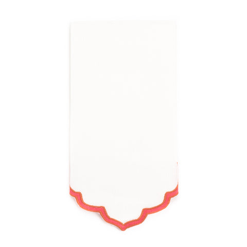 Fiza Guest Towel, Pondicherry/Coral