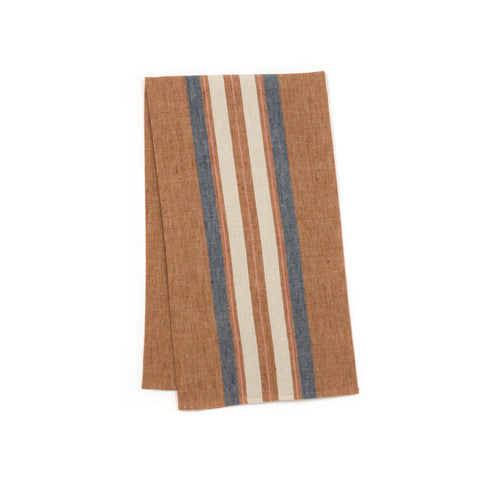 Chilmark Rust Stripe Kitchen Towel