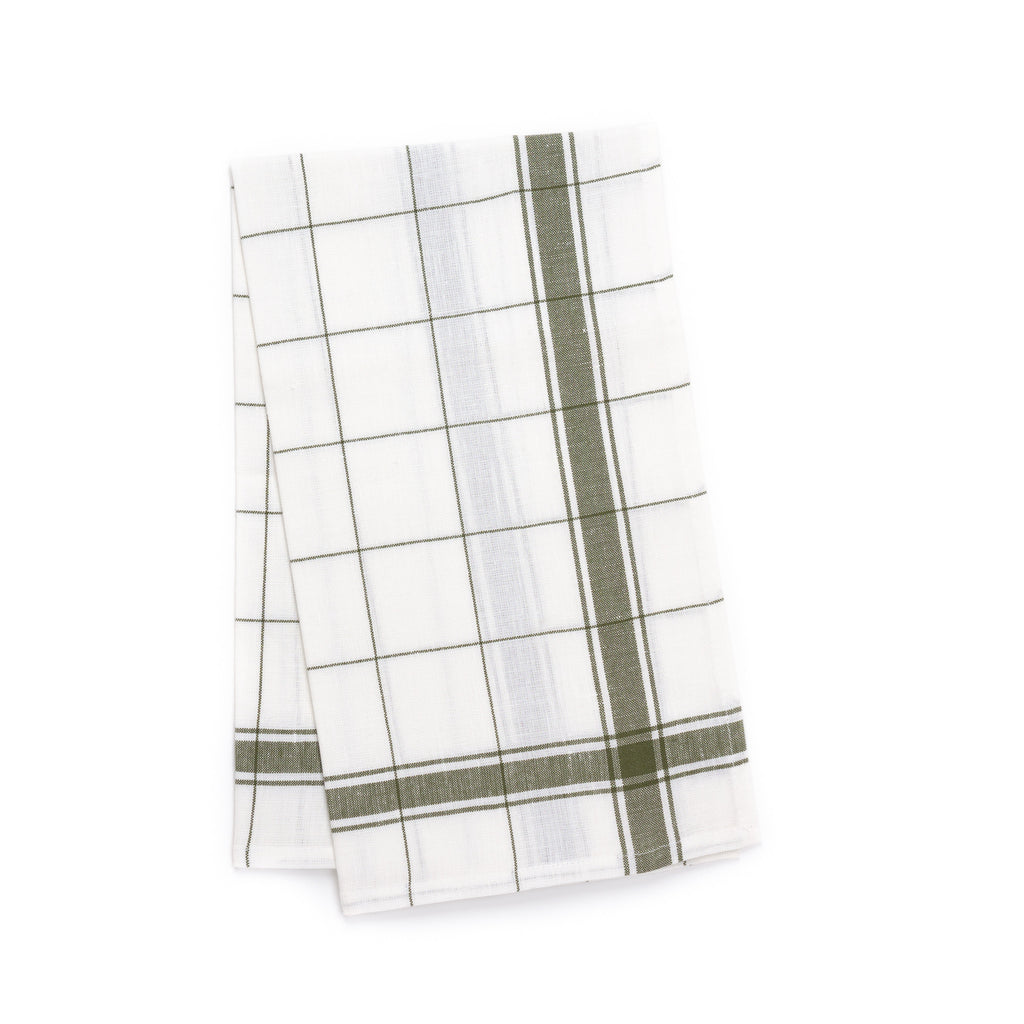 Parma Kitchen Towel, Olive