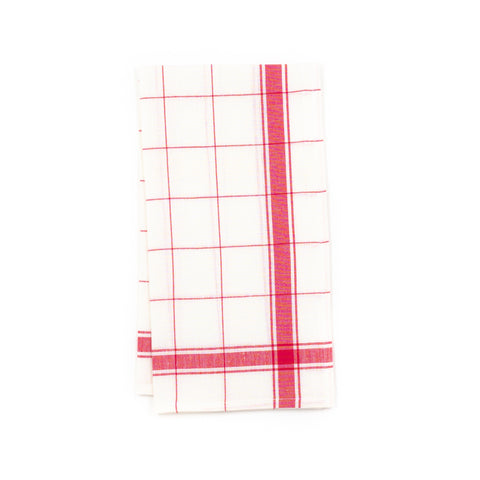 Parma Kitchen Towel, Red