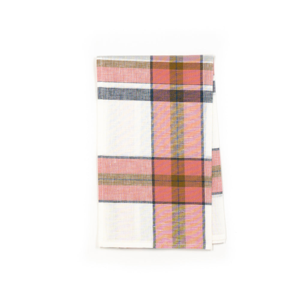 Westport Oyster Check Kitchen Towel